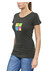 Ocun Pop Art Love Tee Women Antracite
